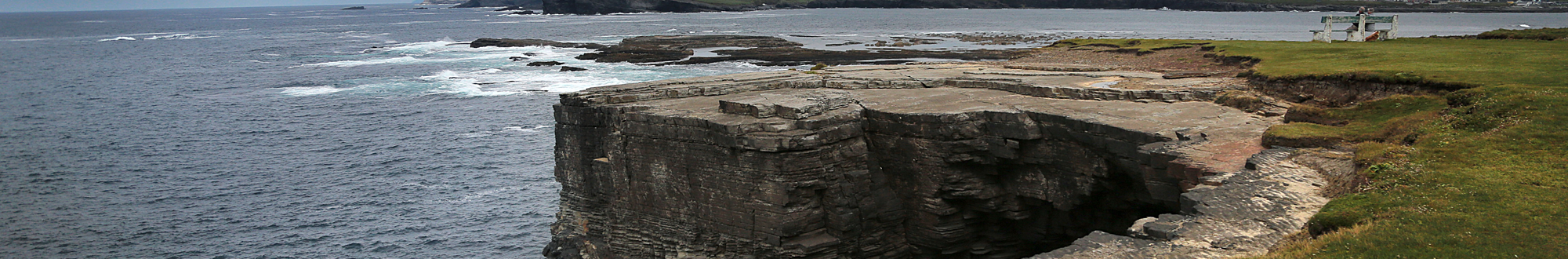 image of kilkee cliffs, clare, co.clare ireland